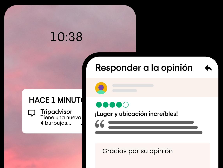 Responder a la opinión